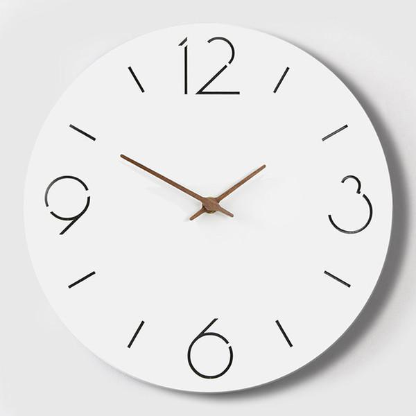Large 3d Modern Wall Watch Quartz Silent Kids Nordic Home Meet Kitchen Wall Clock Modern Design Saat Oclock