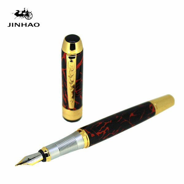 jinhao 250 fine nib 0.5mm fountain pen 1pc/lot business office gift writing stationery student ink pens school supplies