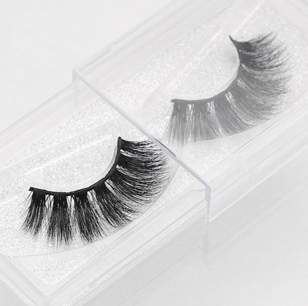 FACTORY SALE! New REAL MINK 3D natural false eyelashes fake lashes long makeup 3d mink lashes extension eyelash mink eyelashes for beauty