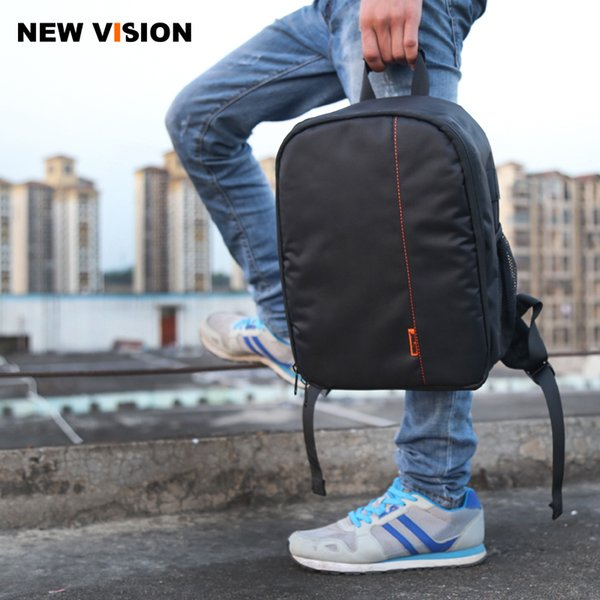 Backpack DSLR SLR Case Waterproof , Multi-functional Digital DSLR Camera Video Bag