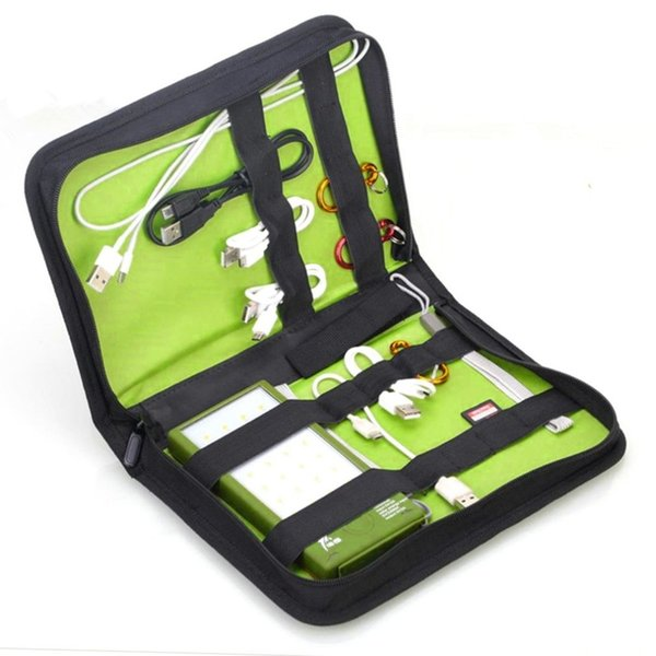 Multifunctional Storage Bag For Package Digital Accessories Hard Disk Charger U Disk Battery Carrying Bag Organizer Holder