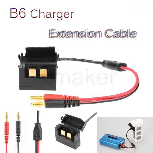 Батарея Зарядный кабель Адаптер Разъем линии быстрой зарядки быстрое преобразование заряда Кабель B6 для DJI Phantom 3 Drone Battery