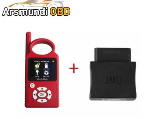 DHL free CBAY V8.8.9 Handy Baby Hand-held Car Key Copy Auto Key Programmer for 4D/46/48 Chips With JMD Assistant Handy Baby OBD Adapter