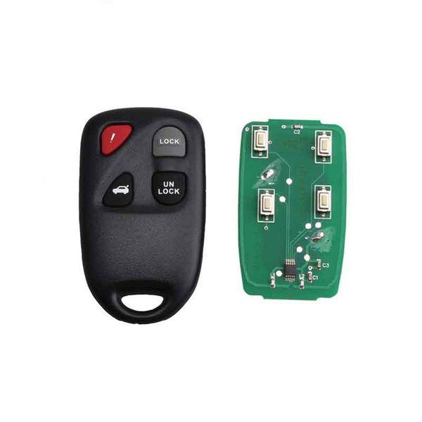 AUTOS Keyless Entry Remote Car Key Fob for Mazda RX-8 2004 2005 2006 2007 2008 for Mazda 6 2003 2004 2005 Original Remote Keys
