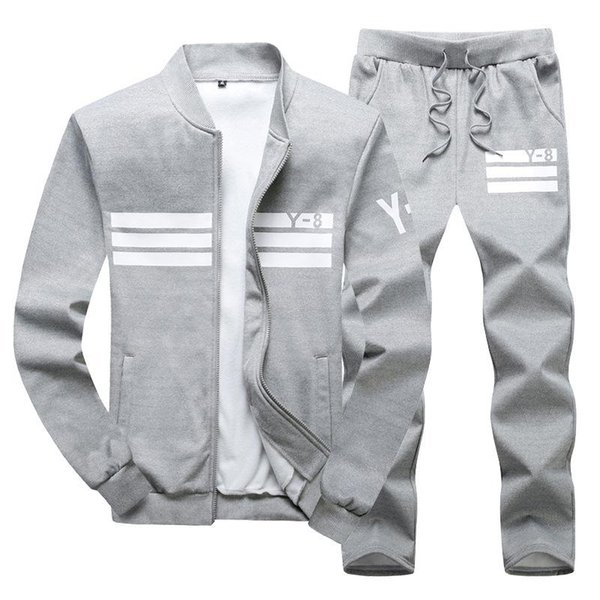 best selling Men Sportswear Hoodie And Sweatshirts Black White Spring Autumn Jogger Sporting Suit Mens SweatSuits Tracksuits Set Plus Size M-4XL