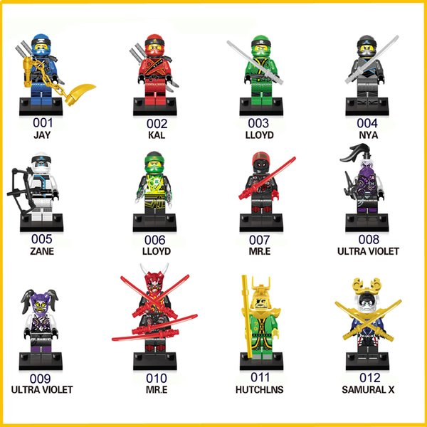 The Avengers Figure Toy Bricks Phantom Ninja Marvel Building Blocks World Cup Messi Neymar Ronaldo Action Mini Figures