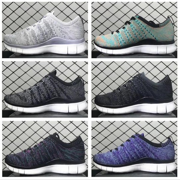 New Free Run 2.0 3.0 5.0 Womens Mens Trainer Running Shoes Blackout Racer Runner Sports Jogging Sneakers