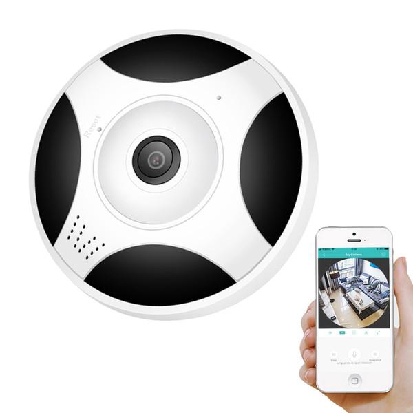 360 Graus Panorâmica Câmera Wifi HD 960 P Sem Fio Wi-fi Câmera IP Home Security Sistema de Vigilância Câmera P2P iCsee