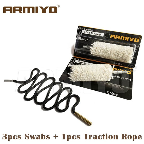 3 tampons plus 1 corde