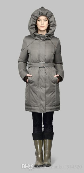 Women's Na-01-AST403 WINTER Down & Parkas WITH FUR HOOD/Snowdome jacket Brand Real Raccoon Fur Collar White Duck Outerwear & Coats