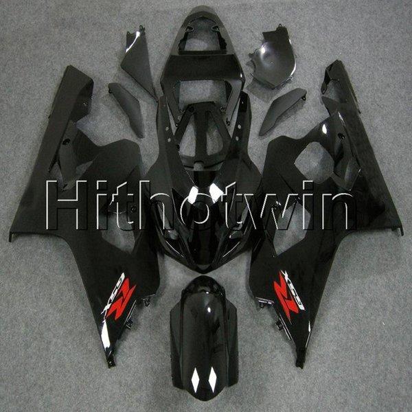23 цвета + 8 подарков глянцевый черный комплект обтекателя мотоцикла для Suzuki K4 GSX-R600750 04 05 GSXR600 2004 2005 ABS пластик обтекатель