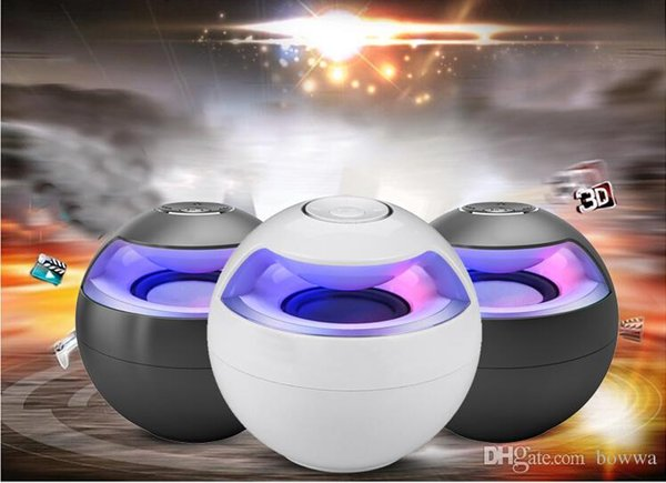 AJ-69 High Quality Mini Active Bluetooth Stereo Speakers mini speaker bluetooth speaker With Micphone LED Light loudspeaker surround sound