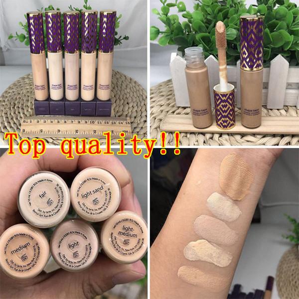 Best Quality Shape Tape Concealer Contour 5 Colors Fair Light Light Medium Medium Light Sand 10ml concealer Face liquid foundation DHL