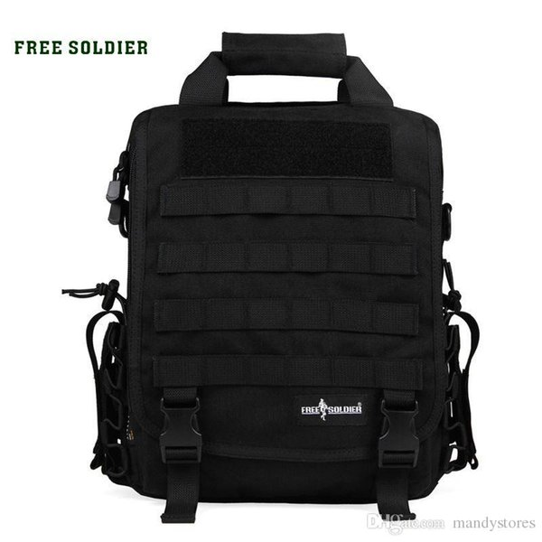 FREE SOLDIER Outdoor Tactical backpack Men women camping hiking travel backpack 14 inch laptop bag single shoulder military bags