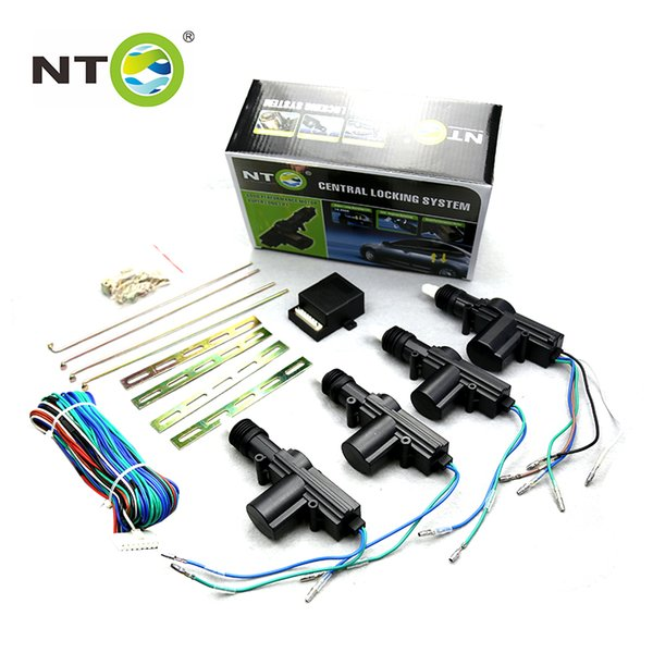 NTO Vehicle Auto Central Door Lock Keyless Entry System Power Window Switch Car Alarm trunk release kit Car Electronics LD003