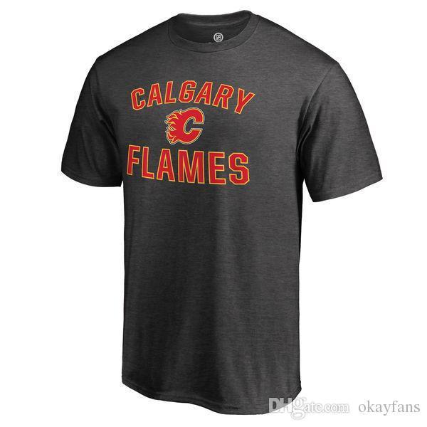 CALGARY FLAMES HOCKEY camiseta Johnny Gaudreau Sean Monahan Mark Giordano número personalizado y nombre tee