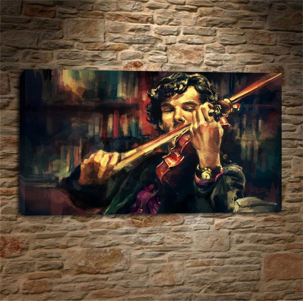 Beethoven composed a Violin,Home Decor HD Printed Modern Art Painting on Canvas (Unframed/Framed)