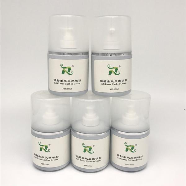 300ml soft laser nero bambola carbon cream gel in polvere q commutato nd yag laser toner naturale