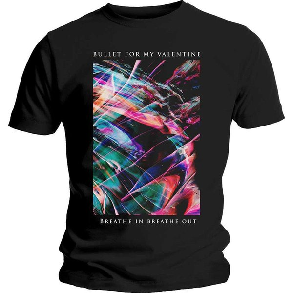 Bullet For My Valentine Gravity Breathe In Out offiziell Männer T-Shirt Herren