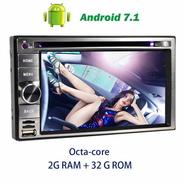 On-board computer car Radio Stereo Octa-core Android 7.1 in Dash GPS Navigation 6.2'' Car DVD Player Headunit Digital TV,DVR,CAMER