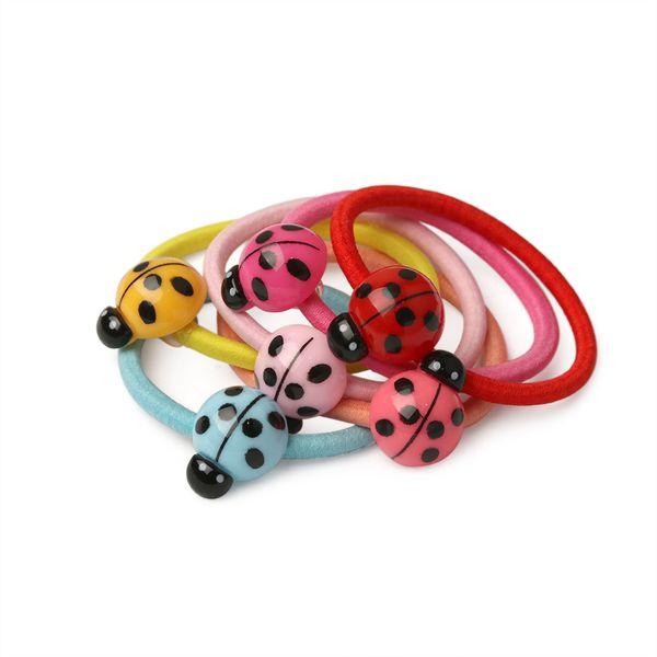 6pcs/lot Animal  Kids Hair Tie Rope Elastic Rubber Hair Band Ponytail Holder Gum For Girls