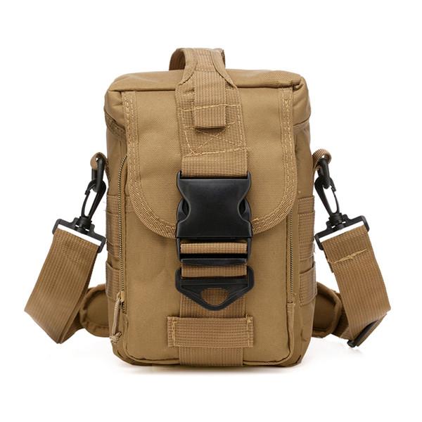 Laamei Men Bag Shoulder Crossbody Bag Oxford Bucket Casual Travel Messenger Male camera Holder Anti Theft Drop shipping