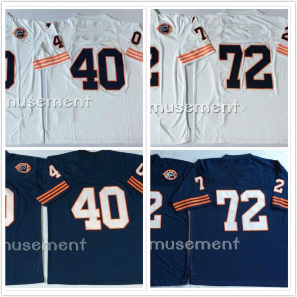 wholesale dealer d23c8 dac9d 2018 Apparel Bears Jerseys #95 Richard Dent 72 Perry 9 Mcmahon 51 Butkus 40  Gale Sayers Men Football Wear Jersey From Chenqinghua, $22.1   Dhgate.Com