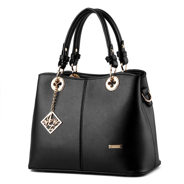 Women Bag Designer New Fashion Casual women's handbags Luxury shoulder bag high quality PU Brand 2018 Korean Style big capacity