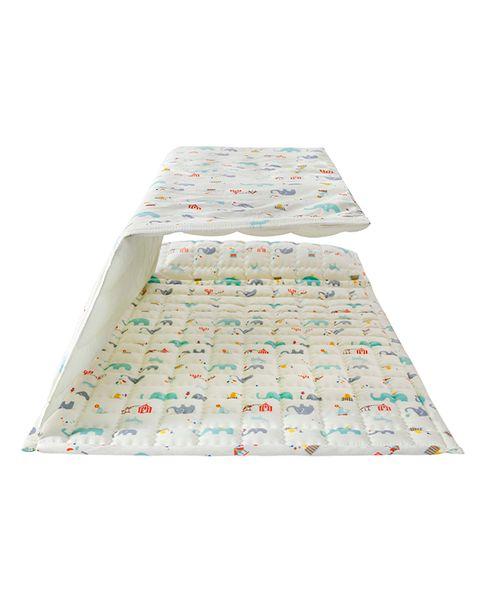 Boy quilt girl winter summer quilt Cute Comforters Kids sleeping bag kids beddings set baby sleeping bag portable baby kindergarten quilt r