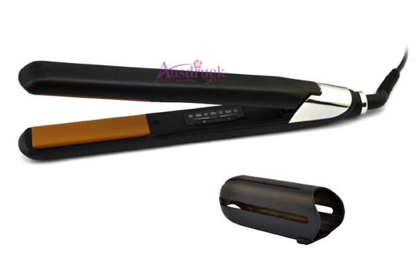"""2 year warrenty 1""""Digital LED Hair Straightening irons Hair Straighteners Titanium Ceramic Tourmaline Plates"""