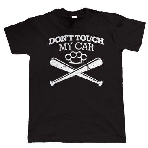 Ne touchez pas ma voiture T-shirt drôle, Jdm Hot Rod Muscle American Classic Car New Fashion Mens Tshirt Coton