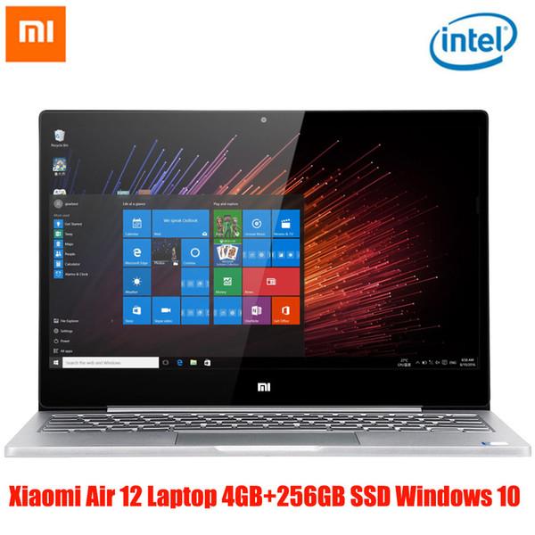 Xiaomi Air 12 Laptop 12.5'' 1080P IPS Screen Windows 10 Intel Core M3-6Y30/M3-7Y30 4GB+128GB HDMI Bluetooth 4.1 Type-C Notebook