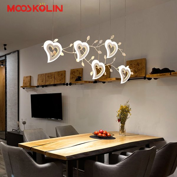 Lampadari Moderni Sala Da Pranzo.Acquista Lampadario Moderno A Sospensione A Led Sala Da Pranzo Soggiorno Cucina Da Ristorante Lampada A Led Home Lighting Lampadario Moderno A 203 09