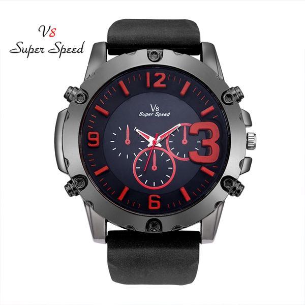 SUPER SPEED wonderful design Watch man men`s watch 2018 quartz geneve cool Waterproof Watches Clock kol saati relogio masculino