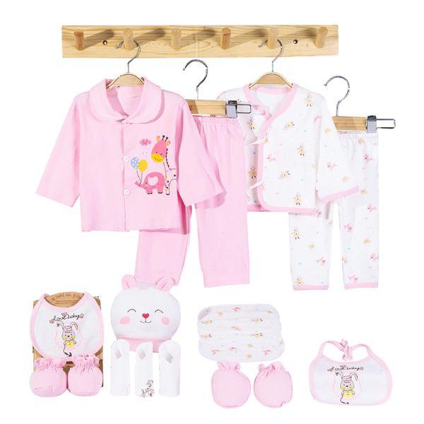 Acheter Coton De Dessin Animé Vêtements Nouveau Né Ensemble Unisexe Doux Automne Printemps Bébé Vêtements Ensemble Cadeau Vêtements Pour Bébé Pour 0 6