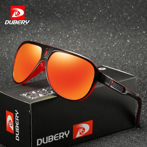 34b8c673546a7 DUBERY 2018 Óculos De Sol Dos Homens Retro Masculino Óculos De Proteção  Coloridos Óculos De Sol
