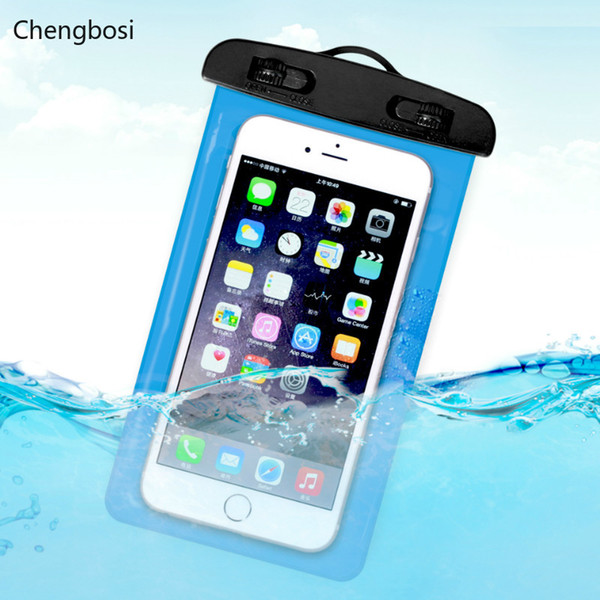 4-6Inch Waterproof Bag Mobile Phone Pouch Underwater Swimming Dry Case Cover Hot