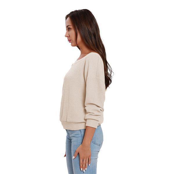 Compre Suéter De La Mujer Del Invierno Que Hace Punto Los Jerseys ...