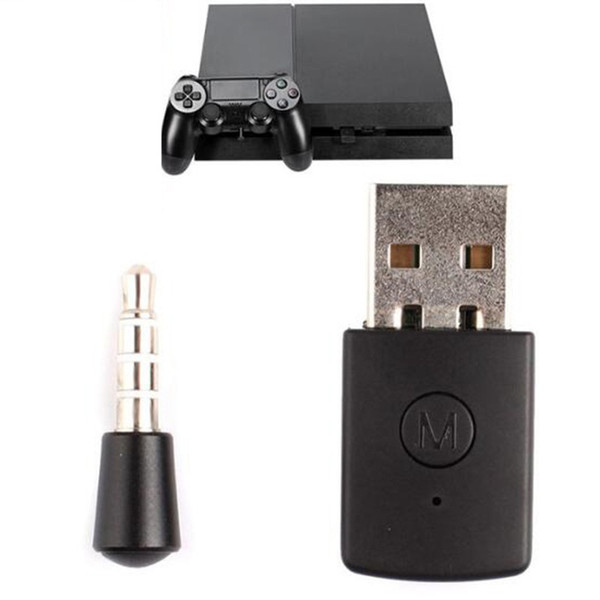 10pcs Portable Audio Wireless Adapter Bluetooth Receiver Adapter Bluetooth 4.0 A2DP Dongle USB Adapter For PS4 /PC Headsets