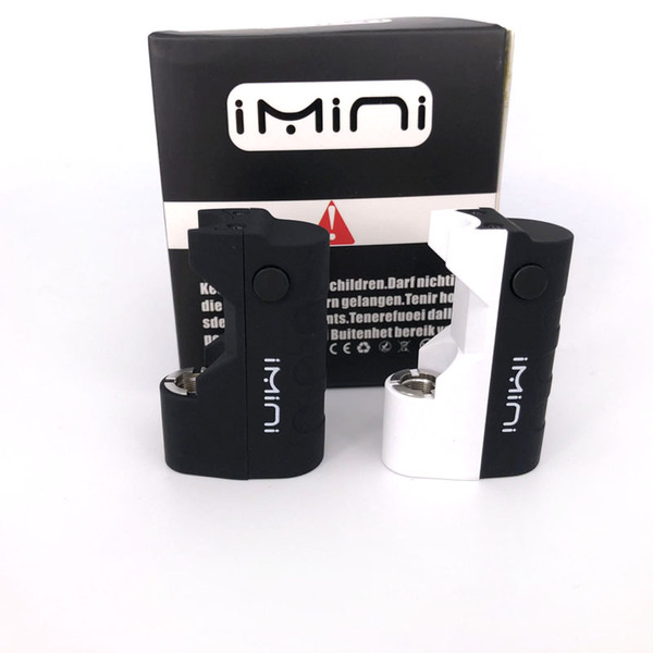 Imini 500mAh Box Mod Battery for Thick Oil Cartridges Vaporizer 510 Thread battery fit Liberty V1 Tank TH205 TH210 Wax Atomizer vape battery