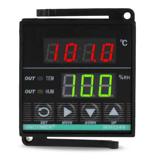 SINOTIMER Strumento digitale intelligente per il controllo dell'umidità della temperatura per il magazzino di prodotti da forno. Controllo della temperatura del filo lungo VB