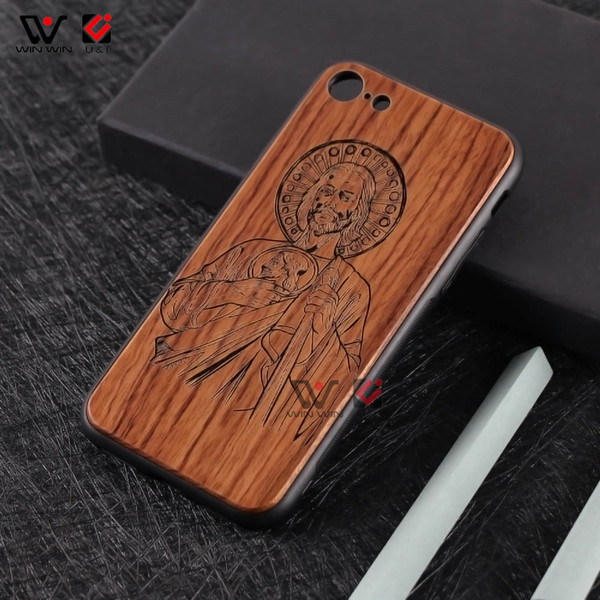 Wholesale Business Perfect Fit Wood Mobile Cell Phone Cover Case For iPhone 6 7 8 Plus X XR XS Max Mobile Phone Accessories