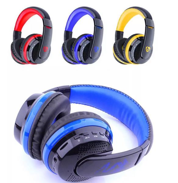 Cuffie wireless MX666 Cuffia Bluetooth 4.0 con microfono sopra l'orecchio Vivavoce per cuffie con fascia FM TF per il telefono Vendita calda