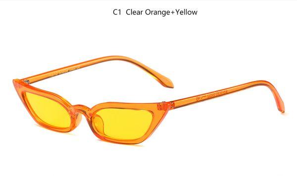 C1 turuncu sarı