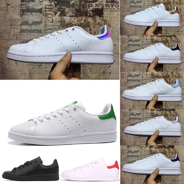 sale retailer ef725 de034 Luxury Brand Stan Smith Mens Sports Shoes Women Sneakers Trainers Casual  Shoes Designer Shoes Triple White Black Red Green Colorfull 36 45 Navy  Shoes ...