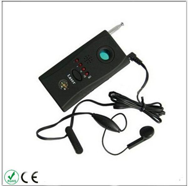 CC308 + Rilevatore di obiettivi per telecamere senza fili Rilevatore di onde radio a rilevatore di segnale Full-range WiFi RF Rilevatore di bug Singnal Laser Device Finder GSM