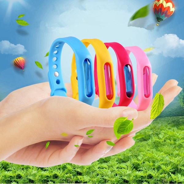 Braccialetto repellente impermeabile anti insetto del braccialetto delle insegne non tossiche Braccialetto repellente sicuro anti insetto del braccialetto di viaggio del silicone per i bambini Adulti