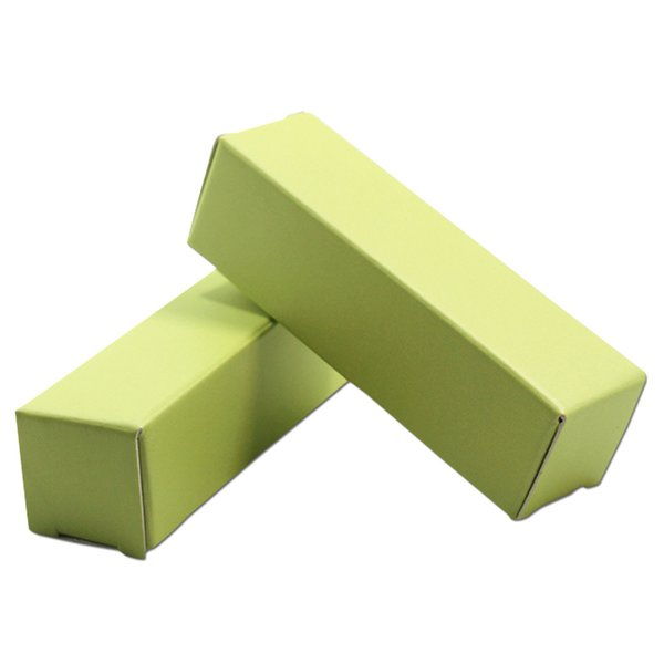 100Pcs/lot Light Green Small Chocolate Candies Kraft Paper Packing Box Carton Paper Party Crafts Lipstick Package Paperboard Box