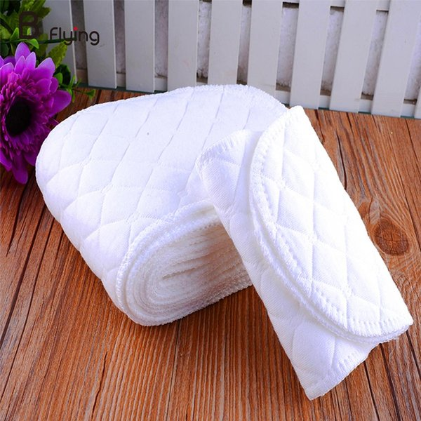 New 10PCS Reusable Baby Infant Cloth Diaper Nappy Liners insert Cotton White Baby Infant Nappy Cloth Diapers HOT
