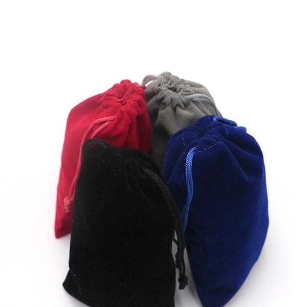 20 pçs / lote Pequena Moeda Bolsa de Viagem Mulheres Pequeno Saco de Pano de Presente de Natal bolsa 10x16 cm Embalagem de Jóias Com Cordão Bolsas